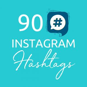 90 Instagram Hashtags